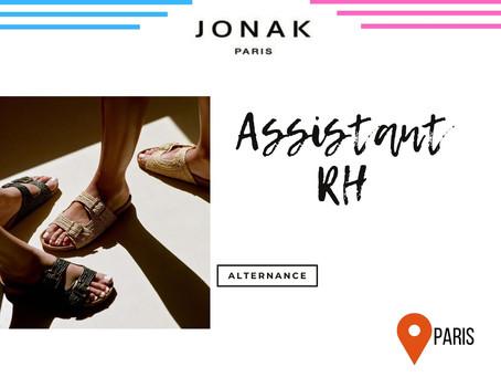 Jonak - Assistant RH (Alternance )