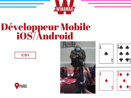 Winamax - Développeur Mobile iOS/Android (CDI)