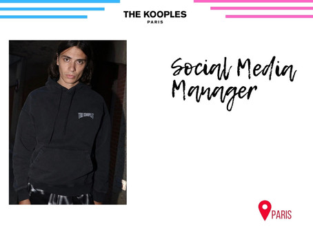 The Kooples - Social Media Manager (CDI)