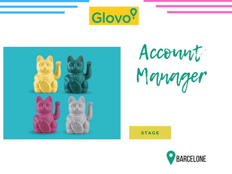Glovo - Account Manager (Stage)