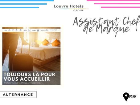 Louvres Hotels Group - Assistant Chef de Marque (Alternance)