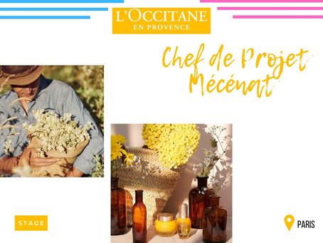 Groupe L'Occitane - Chef de Projet Mécénat (Stage)