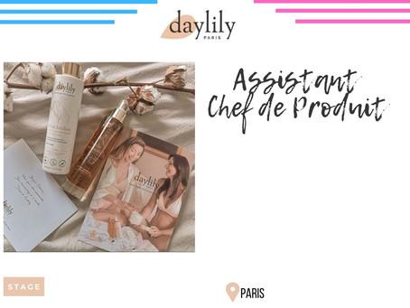 Daylily - Assistant Chef de Produit (Stage)
