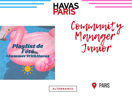 Havas Paris - Community Manager Junior (Alternance)