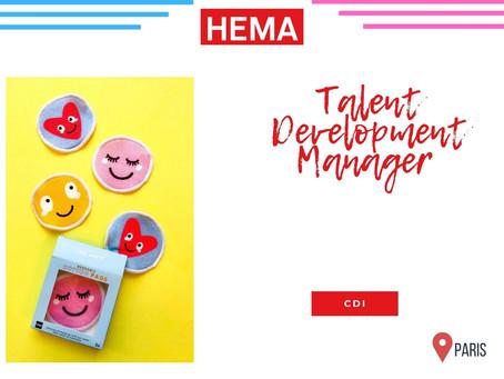 Héma - Talent Development Manager (CDI)