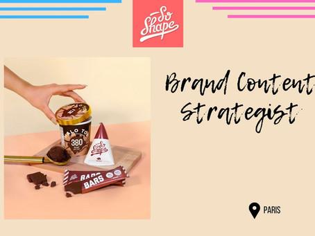 So Shape - Brand Content Strategist