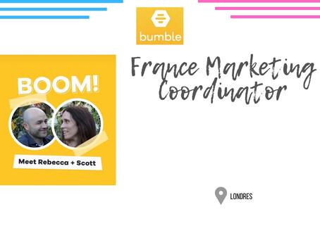 Bumble - France Marketing Coordinator