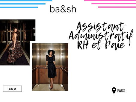 Bash - Assistant Administratif RH et Paie (CDD)