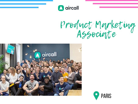 Aircall - Product Marketing Associate