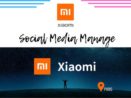 Xiaomi - Social Media Manager