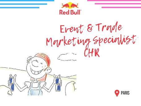 Redbull - Event & Trade Marketing Specialist CHR