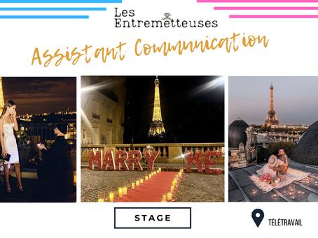Les Entremetteuses - Assistant Communication (Stage)