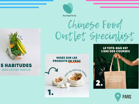 Too Good to go - Chinese Food Outlet  Specialist - PARIS