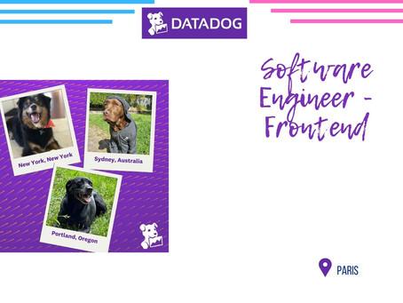 Datadog - Software Engineer - Frontend - Security Platform