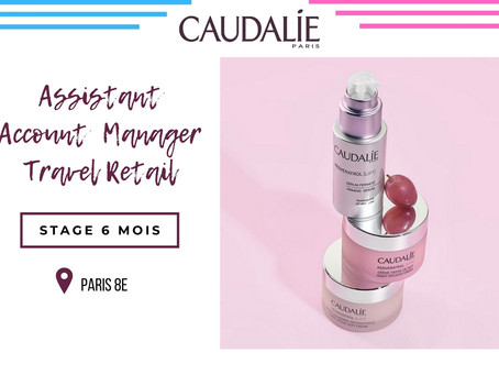 Caudalie - Assistant Account Manager Travel Retail (Stage)
