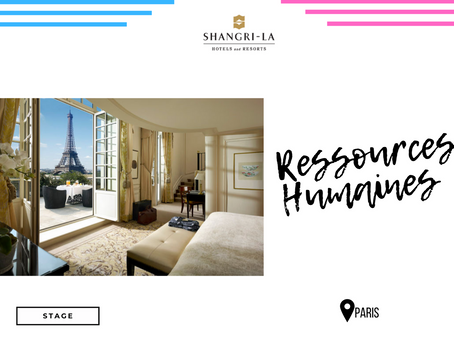 Shangri-La Hotels - Ressources Humaines (Stage)