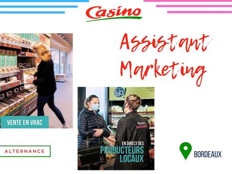 Groupe Casino - Assistant Marketing (Alternance)