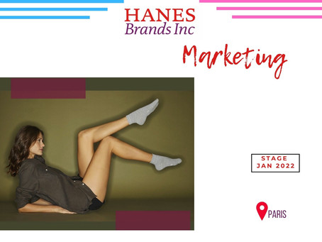 Hanes France - Marketing (Stage)