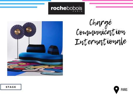 Roche Bobois - Chargé de Communication Internationale (Stage)