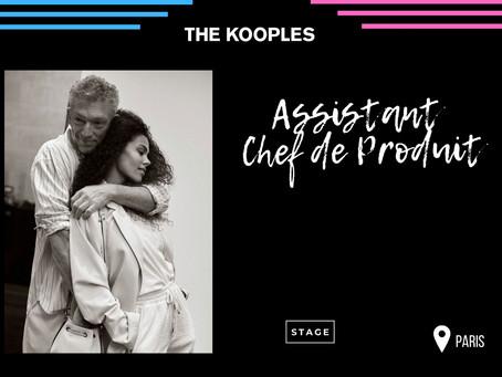 The Kooples - Assistant Chef de Produit (Alternance)