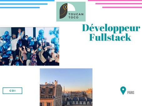 Toucan Toco - Développeur Fullstack (CDI)