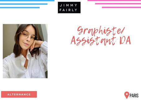 Jimmy Fairly - Graphiste/Assistant DA (Alternance)