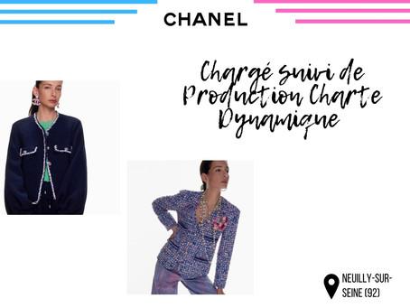 Chanel - Chargé suivi de Production Charte Dynamique