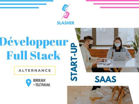 Slasher - Développeur Full Stack (Alternance)