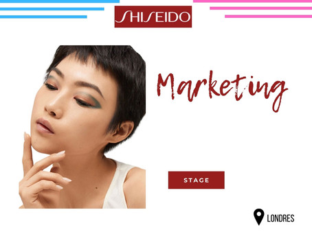 Shiseido Group - Marketing (Stage)