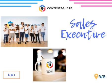 Contentsquare - Sales Executive