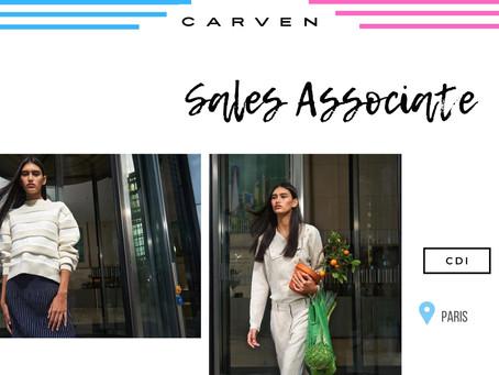Carven - Sales Associate (CDI)