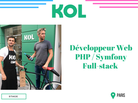 Kol - Développeur Web PHP / Symfony Full-stack (Stage)