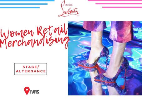Christian Louboutin - Women Retail Merchandising (Stage/Alternance)