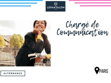 LEPANTALON - Chargé  de Communication (Alternance)