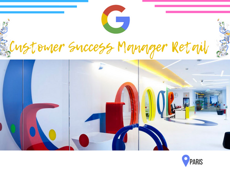 Google - Customer Success Manager, Retail and Consumer, Google Cloud