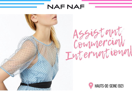 Naf Naf - Assistant Commercial International