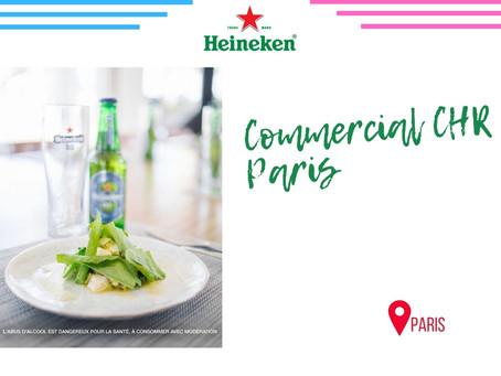 Heineken - Commercial CHR Paris (CDI)
