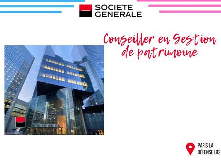 Société Générale - Conseiller en Gestion de patrimoine