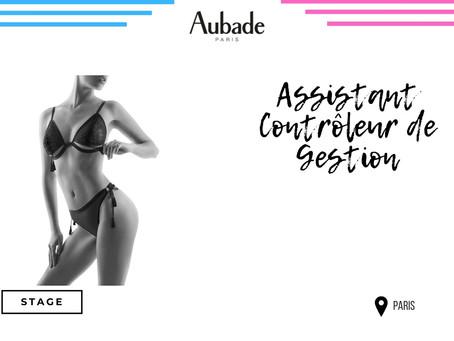 Aubade - Assistant Contrôleur de Gestion (Stage)
