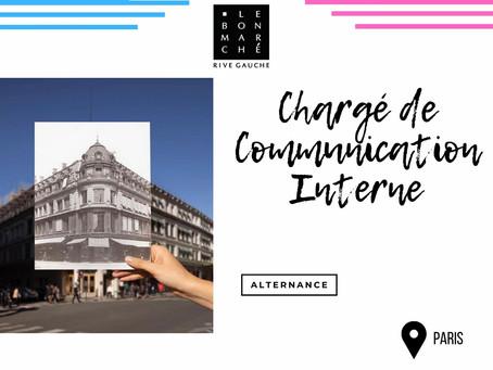 Le Bon Marché - Chargé de Communication Interne (Alternance)