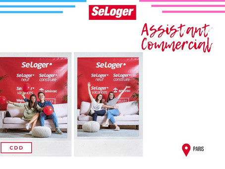 Se loger - Assistant Commercial (CDD)