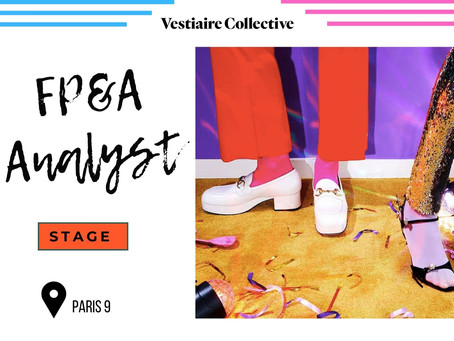 Vestiaire Collective - FP&A Analyst (Stage)
