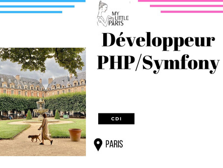 My Little Paris - Développeur PHP/Symfony (CDI)