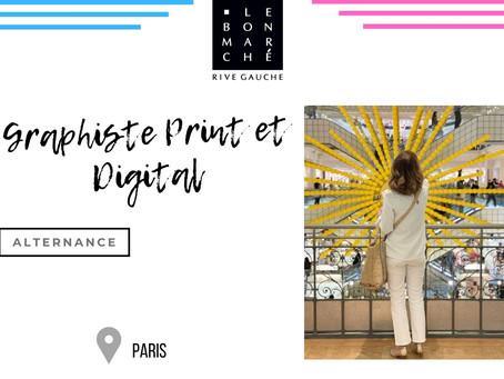 Le Bon Marché - Graphiste Print et Digital (Alternance)