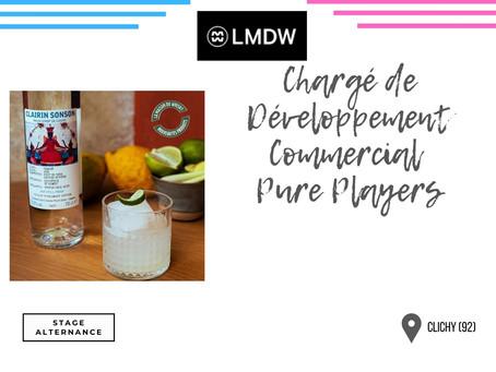 La Maison du Whisky - Chargé de Développement Commercial Pure Players (Stage/Alternance)