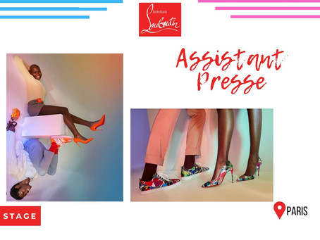 Christian Louboutin - Assistant Presse (Stage)