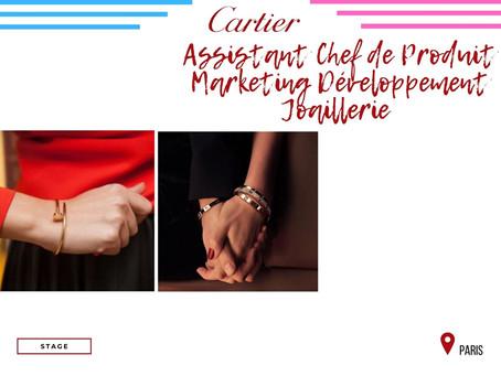 Cartier - Assistant Chef de Produit Marketing Développement Joaillerie (Stage)