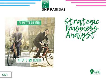 BNP - Strategic Business Analyst (CDI)