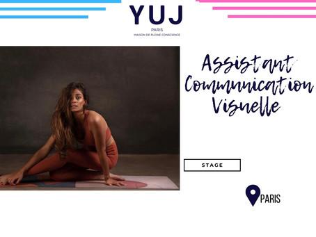 Yuj Yoga - Assistant Communication Visuelle (Stage)