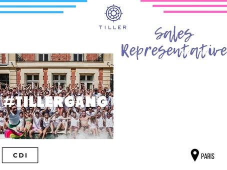 Tiller - Sales Representative (CDI)